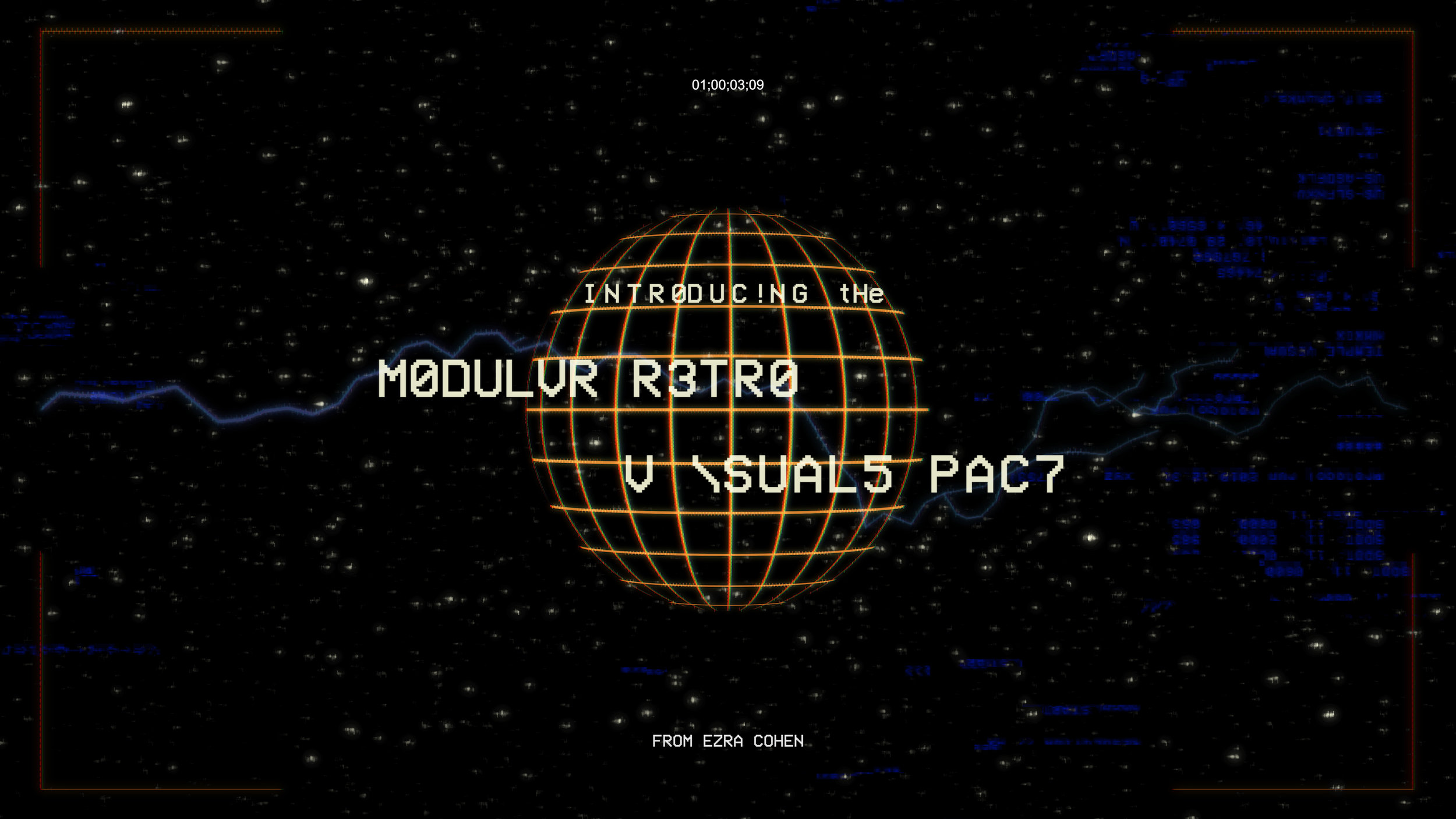 Copy of MODULAR RETRO ELEMENTS (4K)  |  $69