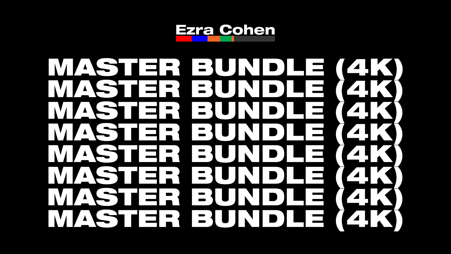 MASTER BUNDLE  |  SAVE 30%