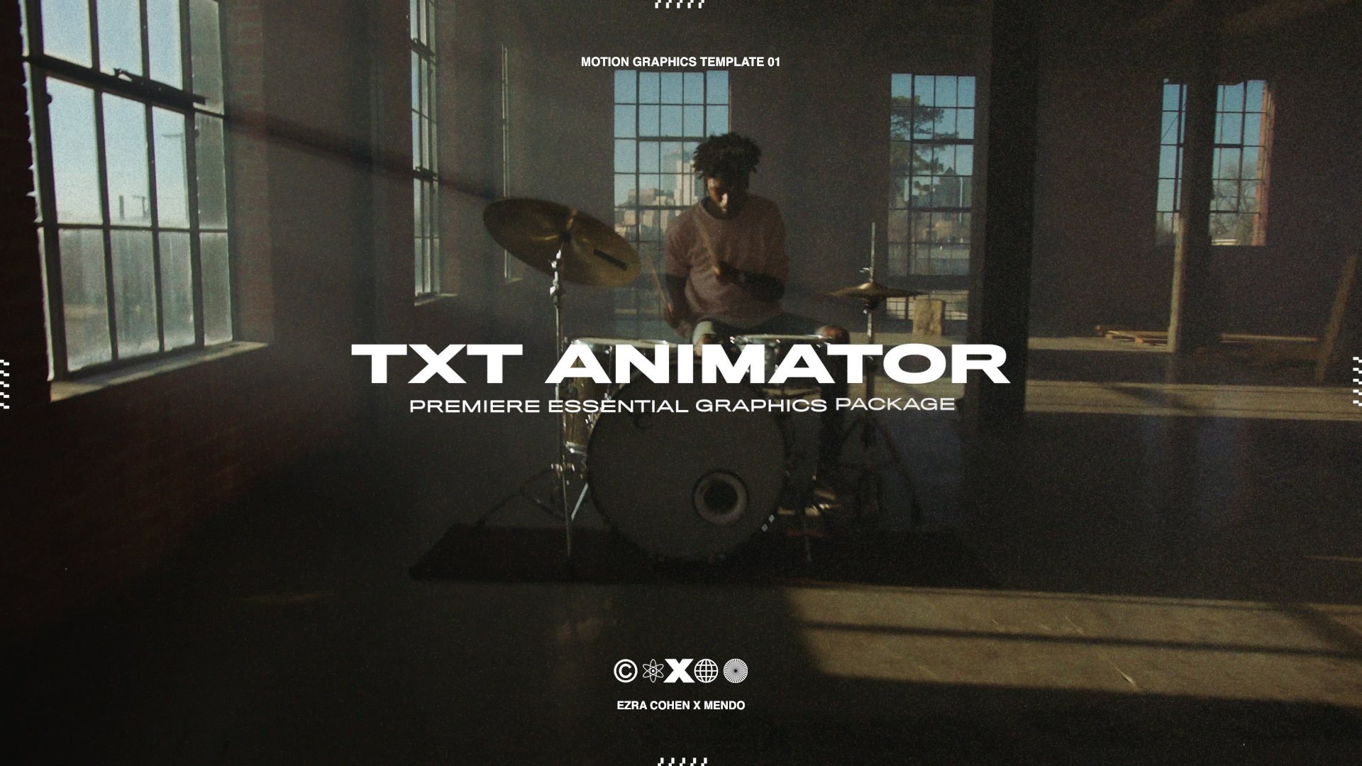 (NEW)  TXT Animator | $39  5 Text Animation presets you will ACTUALLY USE for Premiere Pro CC. Created in collaboration with the brilliant animator Mendo.