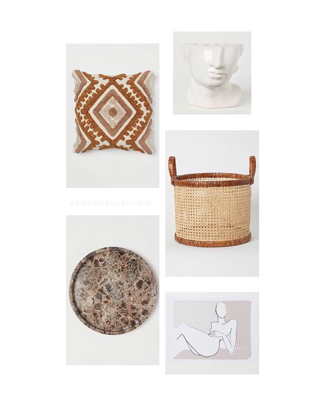 5 cosas de @hmhome @hm que no sabías que querías. . . . #hymhome #hym #wishlist #collage #home #interior #design #october #autumn #decoration #studio #topfive