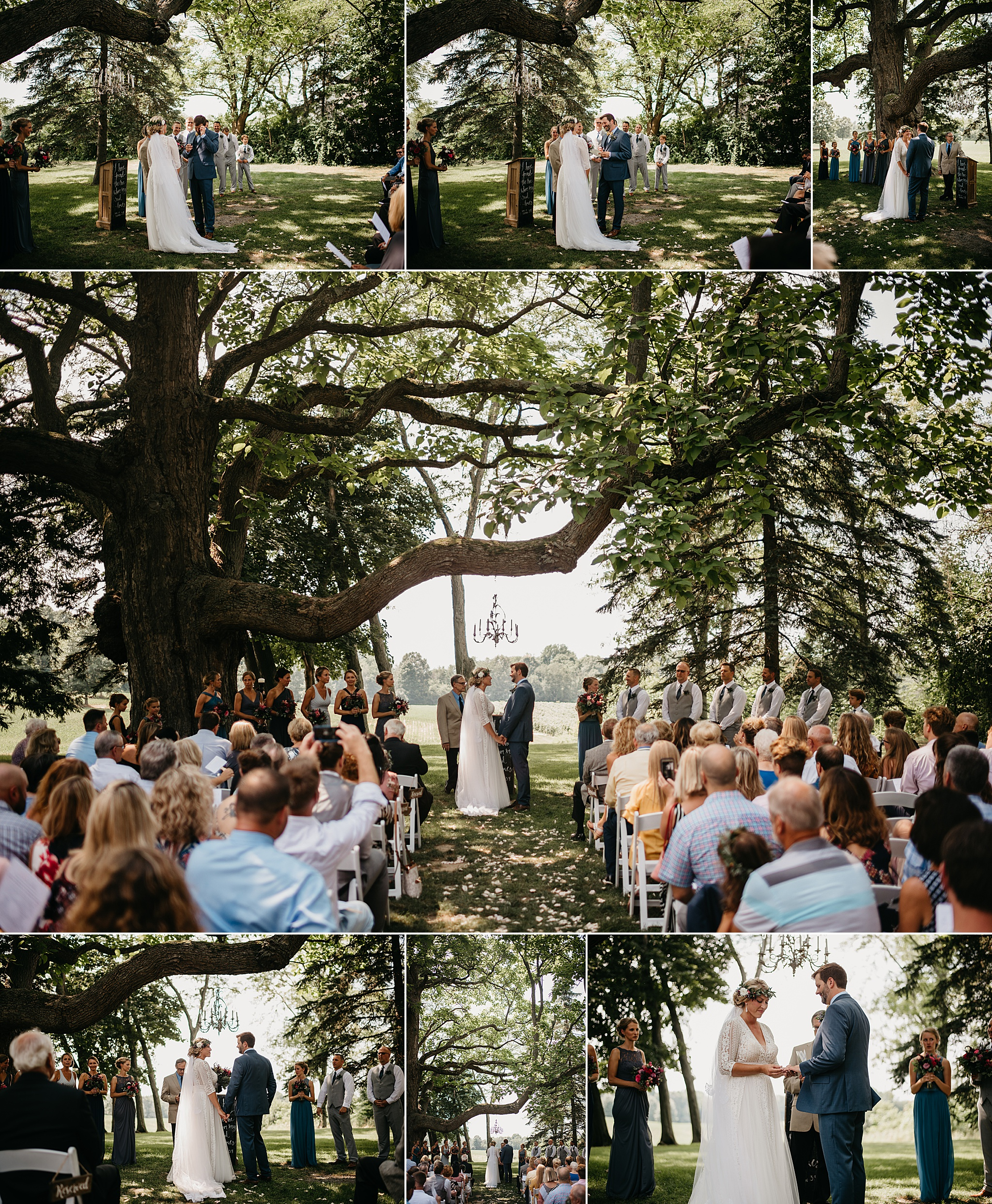 Hidden Vineyard Wedding