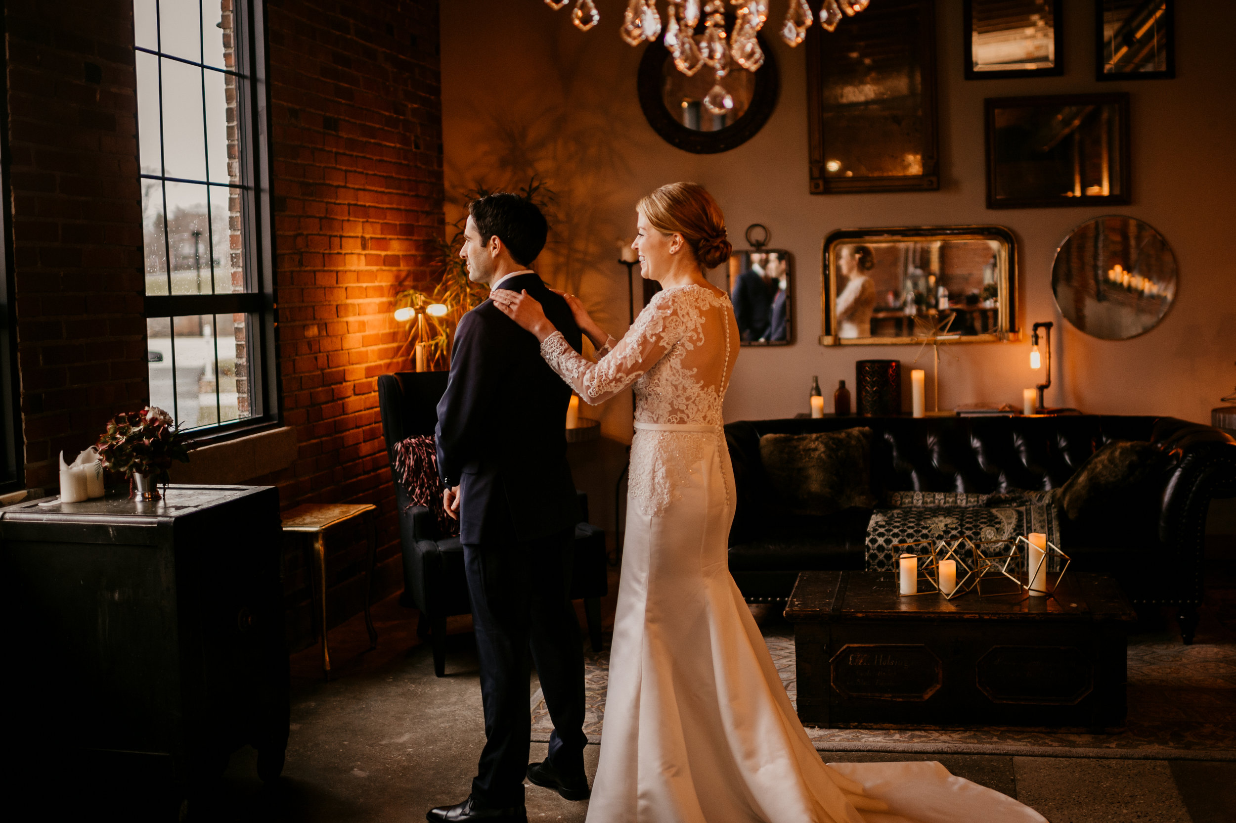 The Armory South Bend Indiana Wedding - Chicago Wedding Photographe