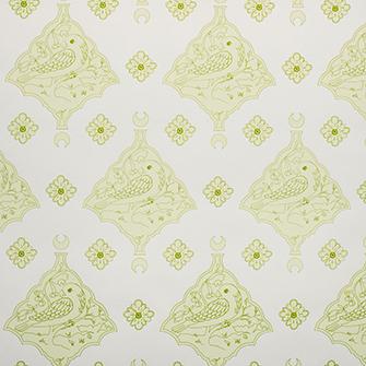 Wallpaper: Oiseau in color Green