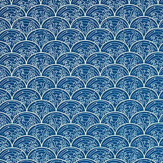 Wallpaper: Wave in color Navy