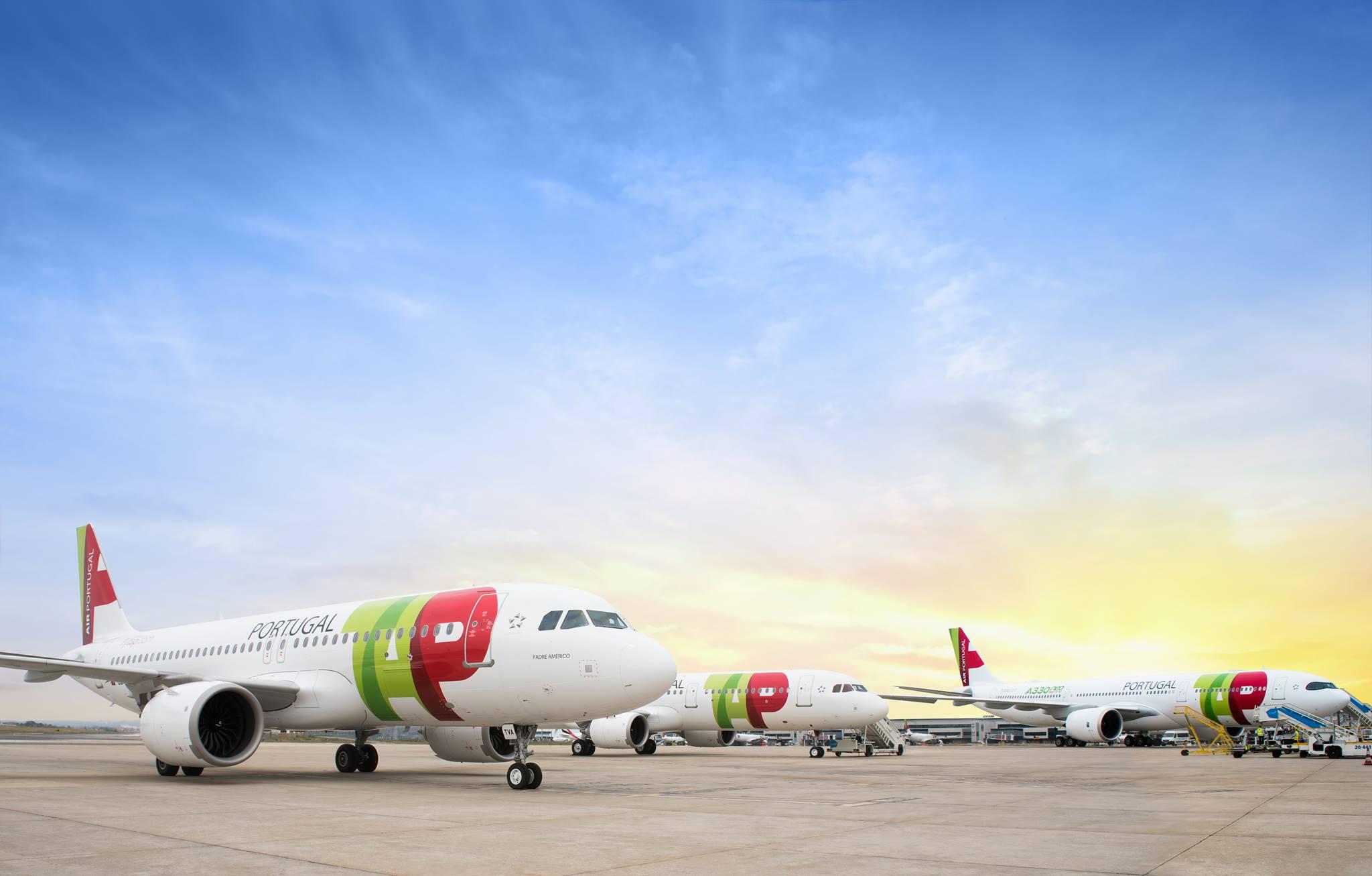 A nova geração de aeronaves TAP: Airbus A320NEO, A321NEO e A330NEO. (c) TAP Air Portugal