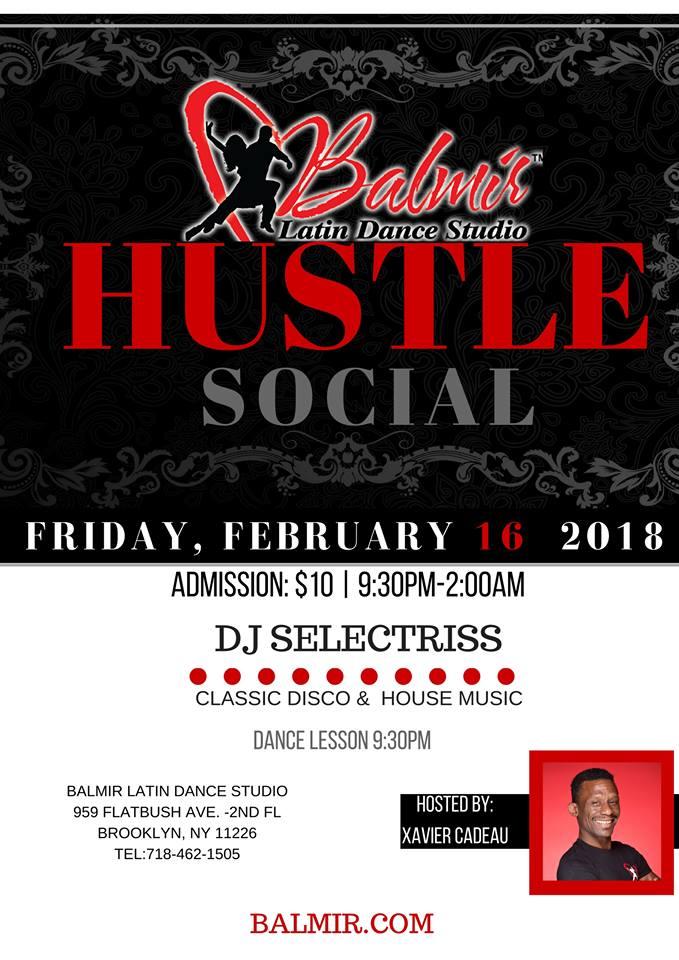 Hustle Dance Party Social Brooklyn Dance Studio