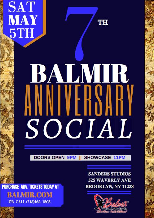 Balmir 7th Anniversary Social Party Saturday May 5 2018