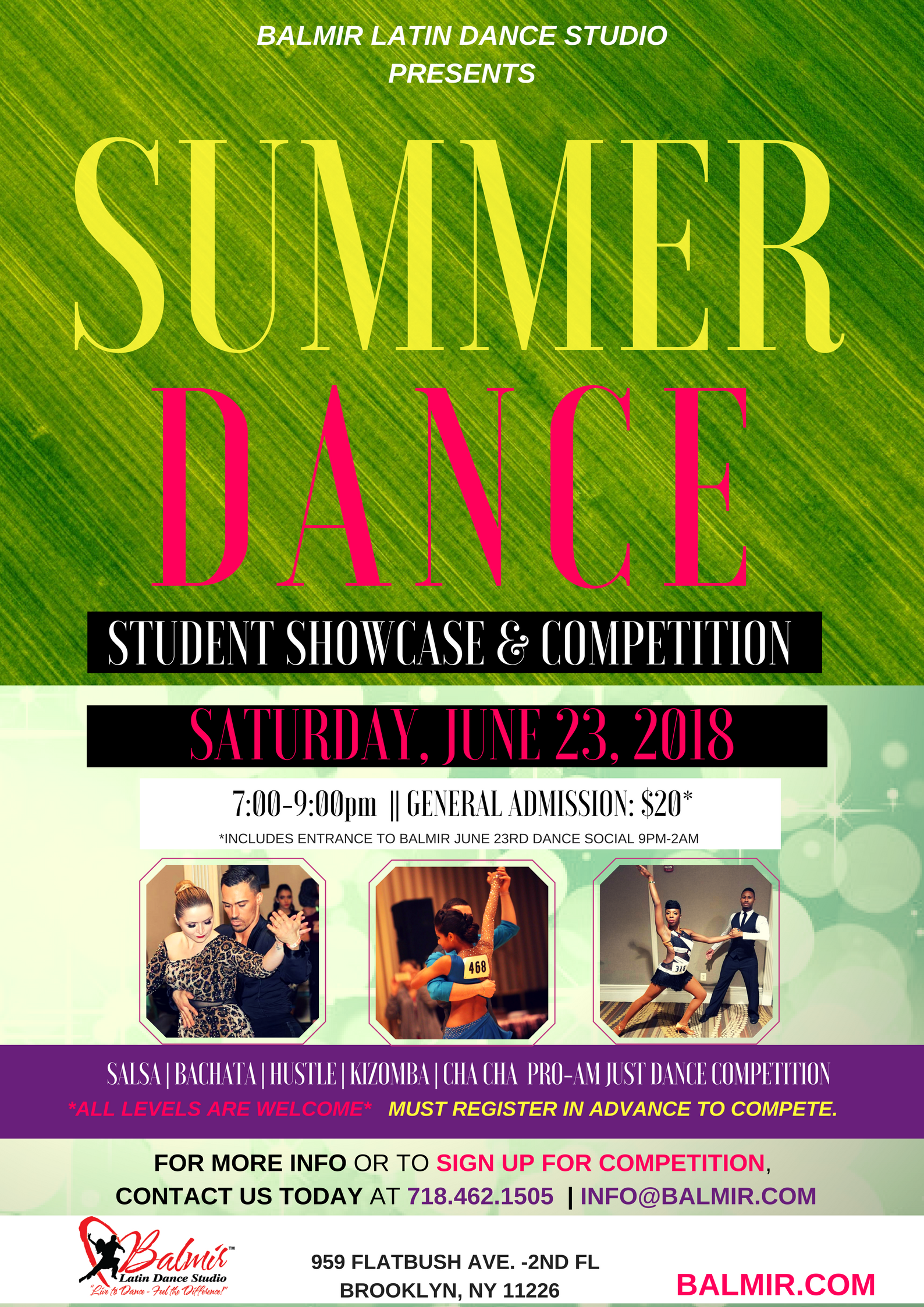 summer dance competition and showcase 2018
