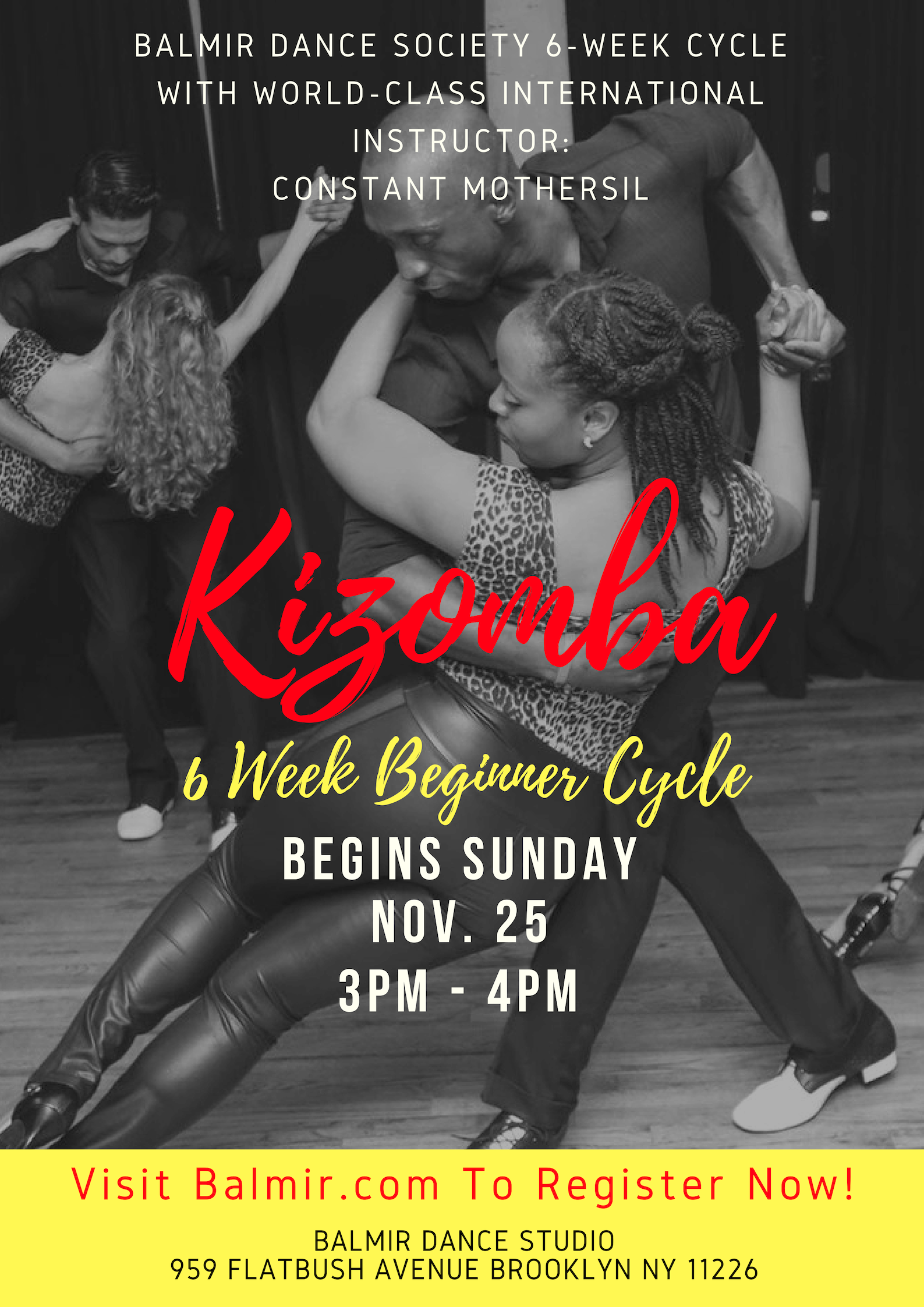 Kizomba 6 Week Cycle Brooklyn Dance Classes Balmir.png