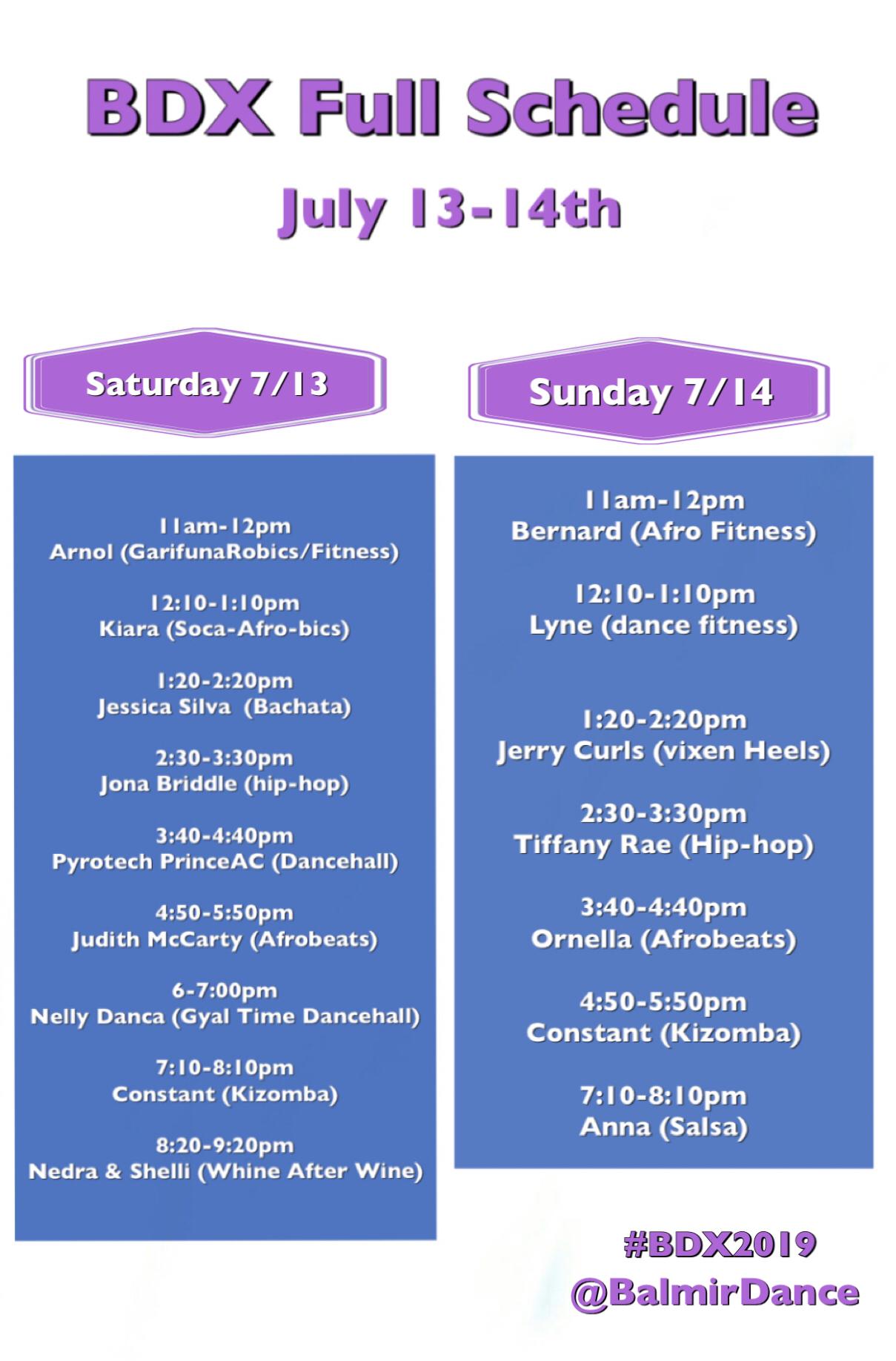 BDX 2019 Schedule Brooklyn NYC Dance Class Intensive July 13 and July 14.jpeg