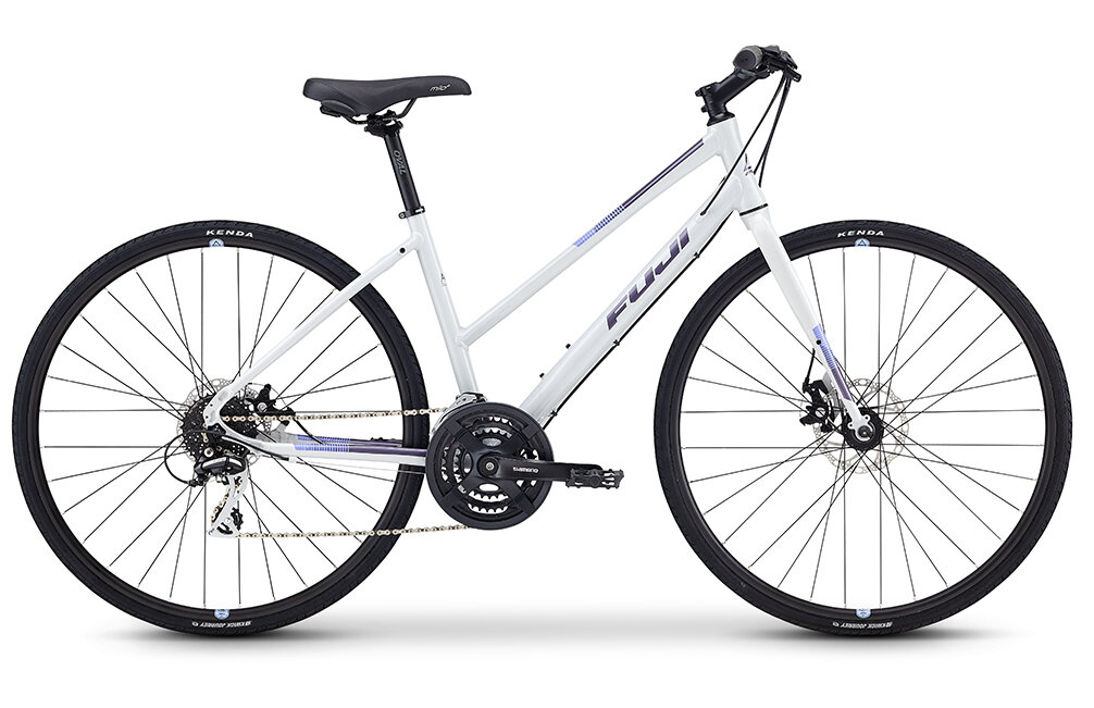 Fuji Absolute 1.9 Step Through   Known for versatility, the Absolute's geometry strikes a balance between speed and comfort, making it ideal for the fitness-minded rider, or the urbanite looking to ride to work or run errands.
