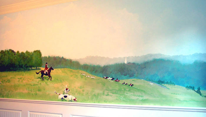 Fox Hunt Mural
