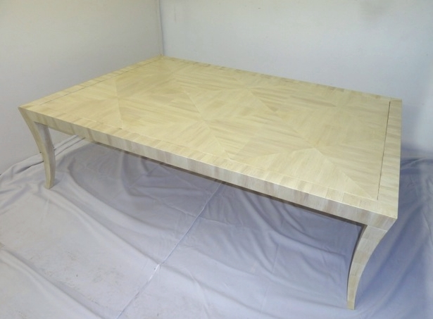 Faux Ivory table