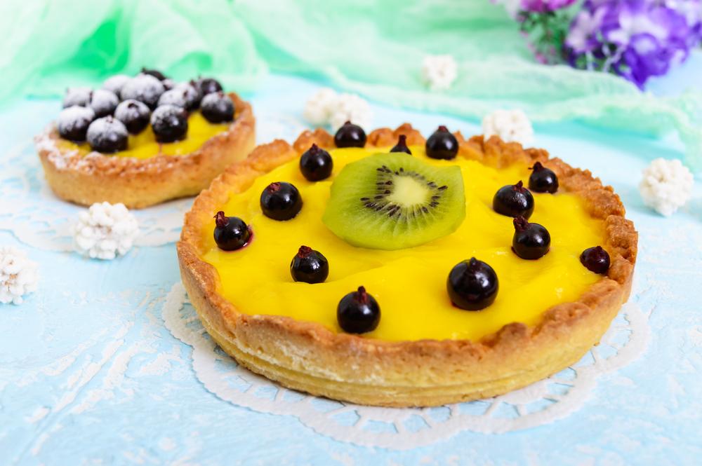 6-Min. Lemon Olive Oil Custard Tart