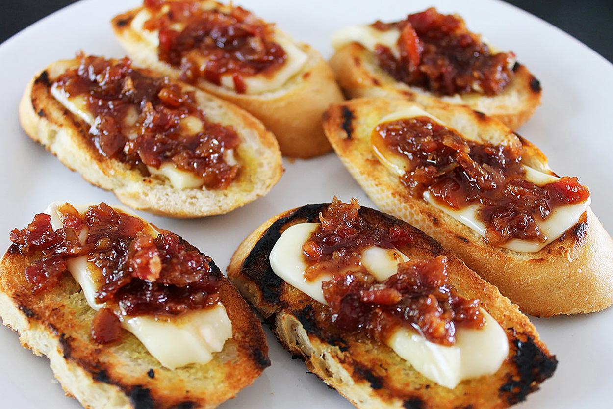 Smoked Bacon Balsamic Jam