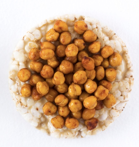 Dry Roasted Curry Chickpeas