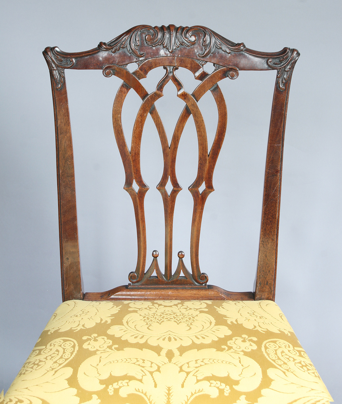 Chippendale chair after fabrication