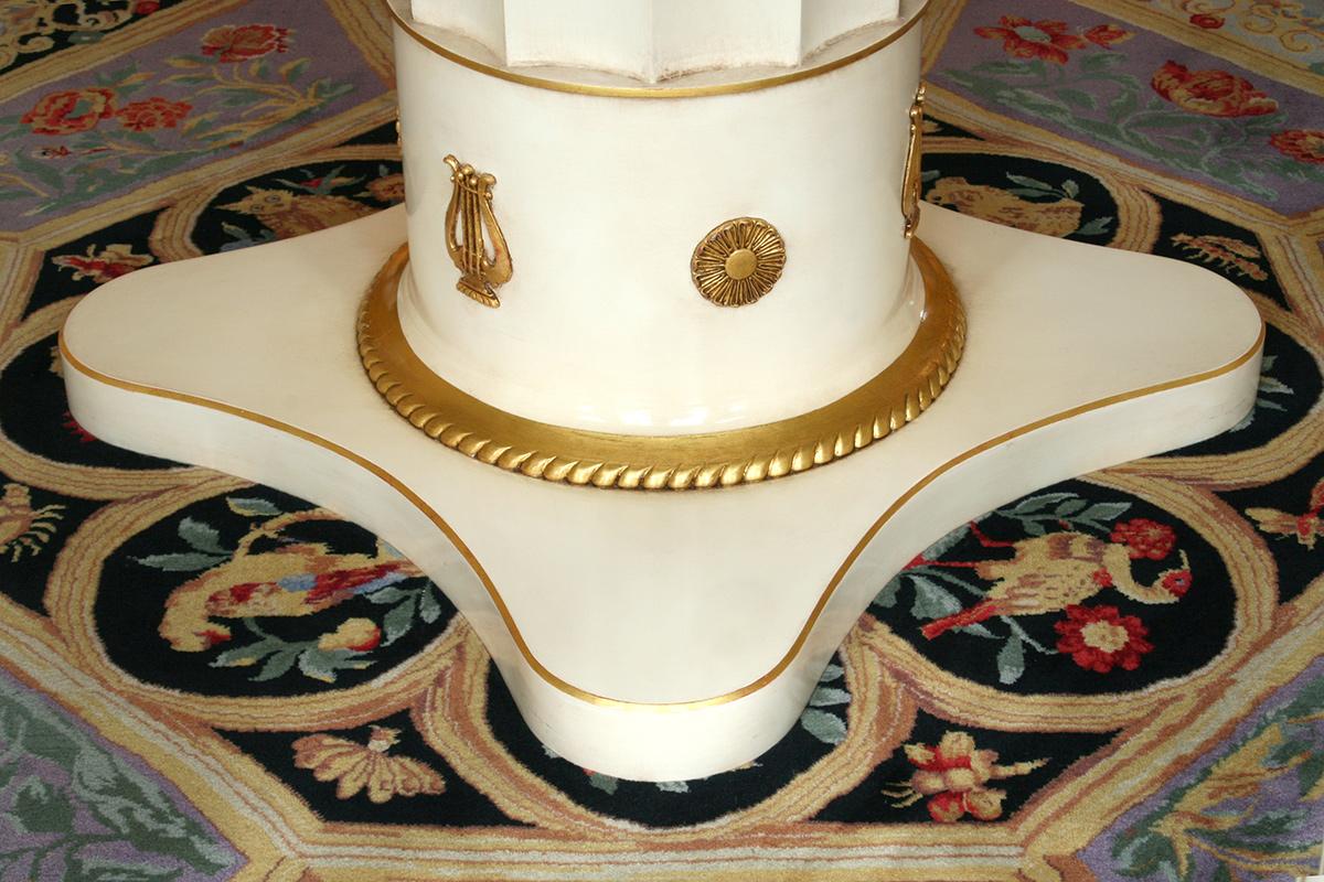 Oil gilded decorative ornaments