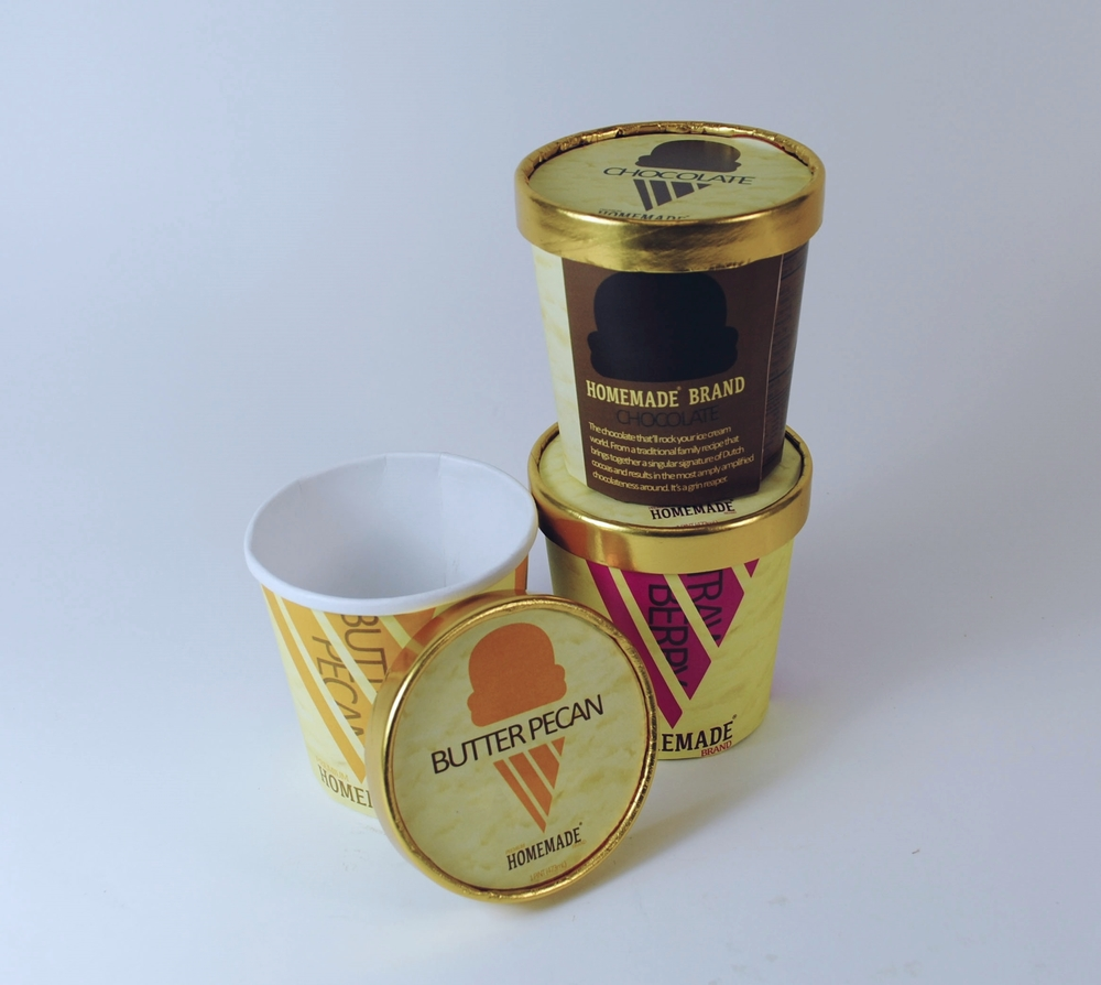 Homemade Brand Ice Cream — RJ Design