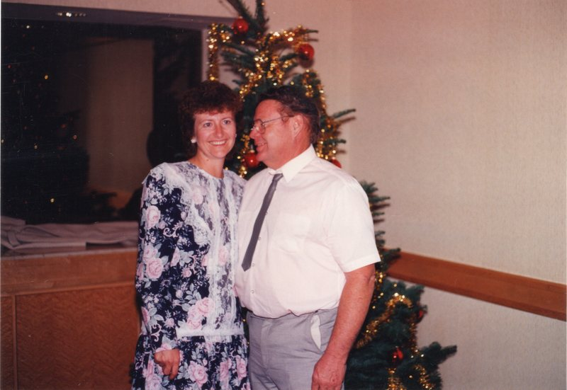 Marlene and Malcolm, AIS Christmas Party 1991