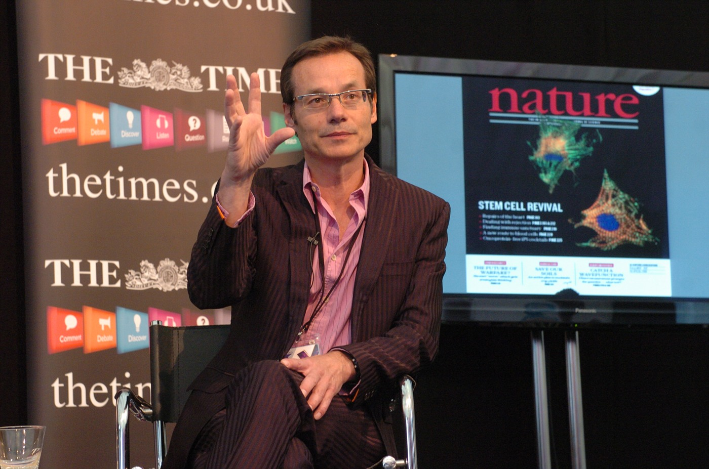 Mark Lythgoe at Cheltenham Science Festival 2017