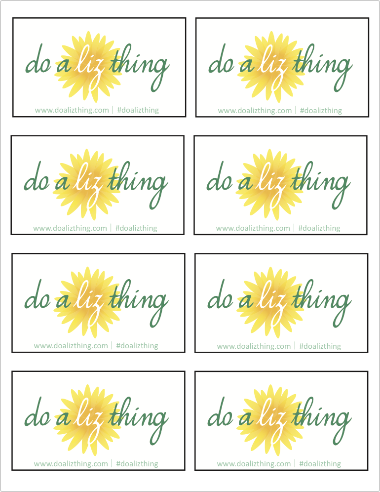do a liz thing gift tags