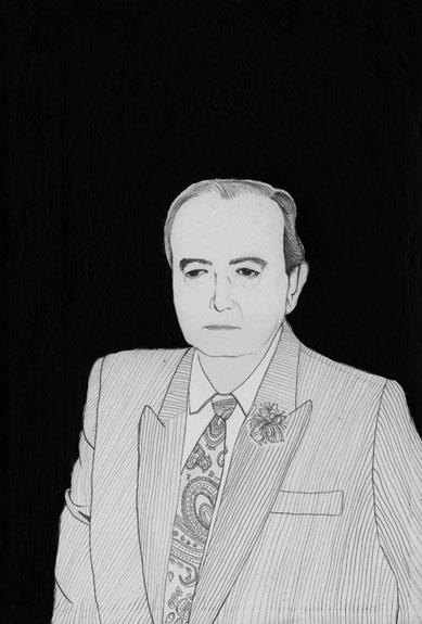 11.Julian 2001. Graphite & Acrylic on paper. 10%22 x7%22.jpg