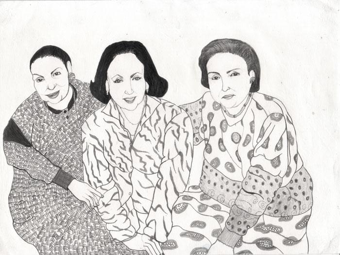Piedad, Marina & Silvia