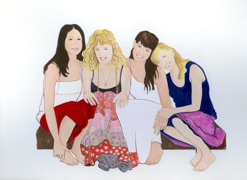 Nancy, Jennifer, Ana and Amy