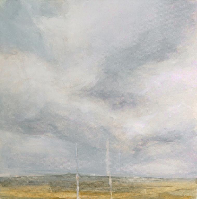 Long Goodbye drippy landscape painting skyscape rain Kaitlin Merchant Davison kdmerchant.jpg.jpg