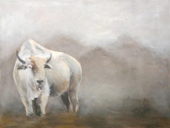 Harmony landscape painting foggy misty atmospheric buffalo Kaitlin Merchant Davison kdmerchant.jpg