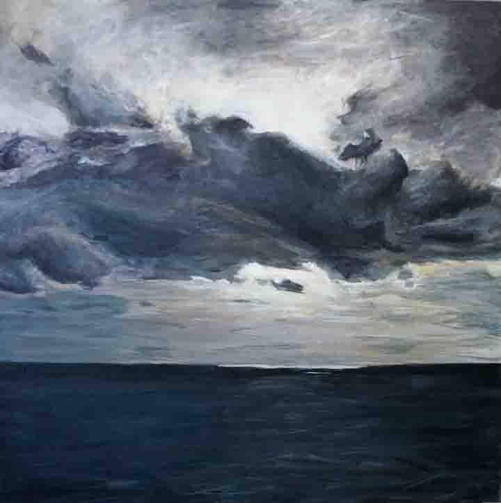 Seascape I landscape painting skyscape seascape Kaitlin Merchant Davison kdmerchant.jpg