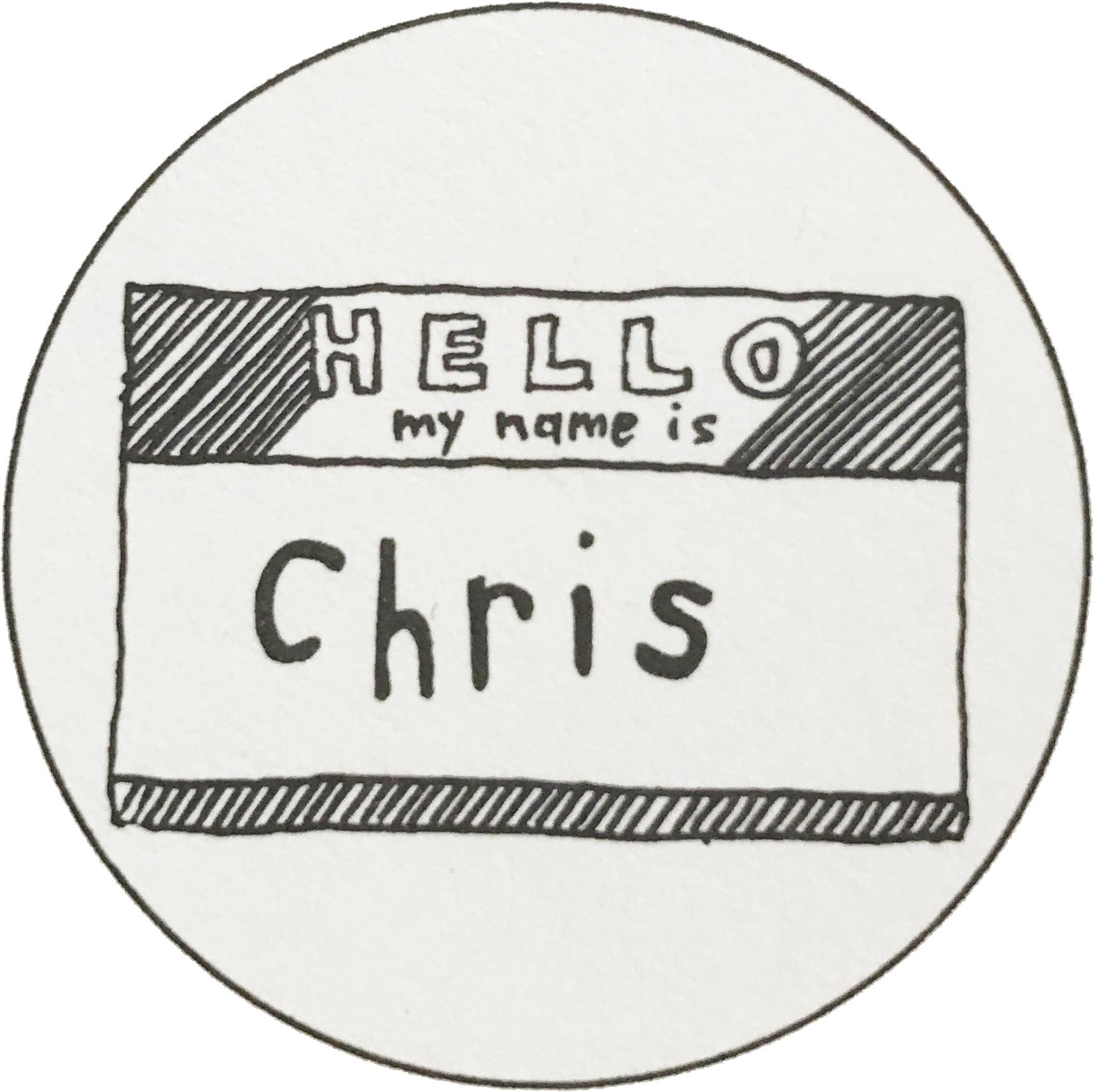 Chris not Christina