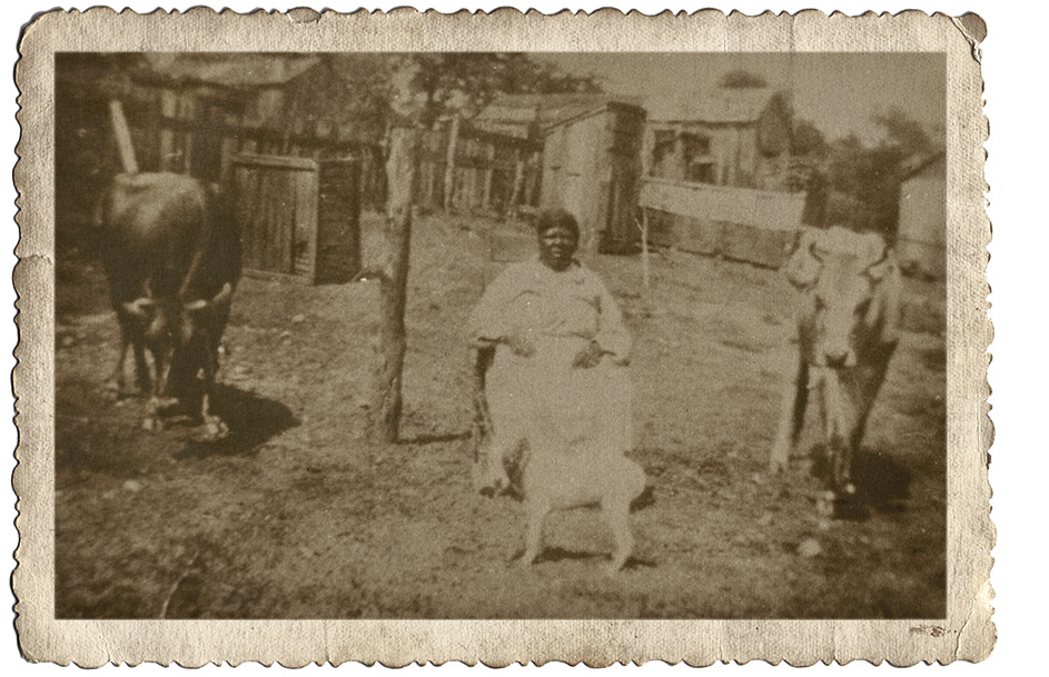 Clarksville woman with livestock