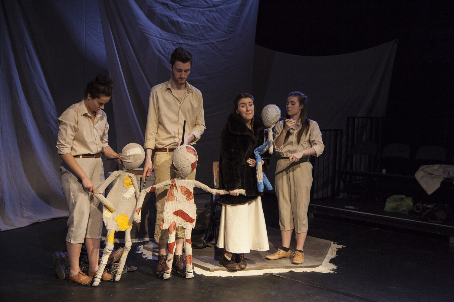 THE WHEEL - SET DESIGNER / PUPPET BUILDERBLACK BOX THEATRE, UNIVERSITY OF YORK (AUTUMN 2015)DIRECTED BY SAFFIA SAGE