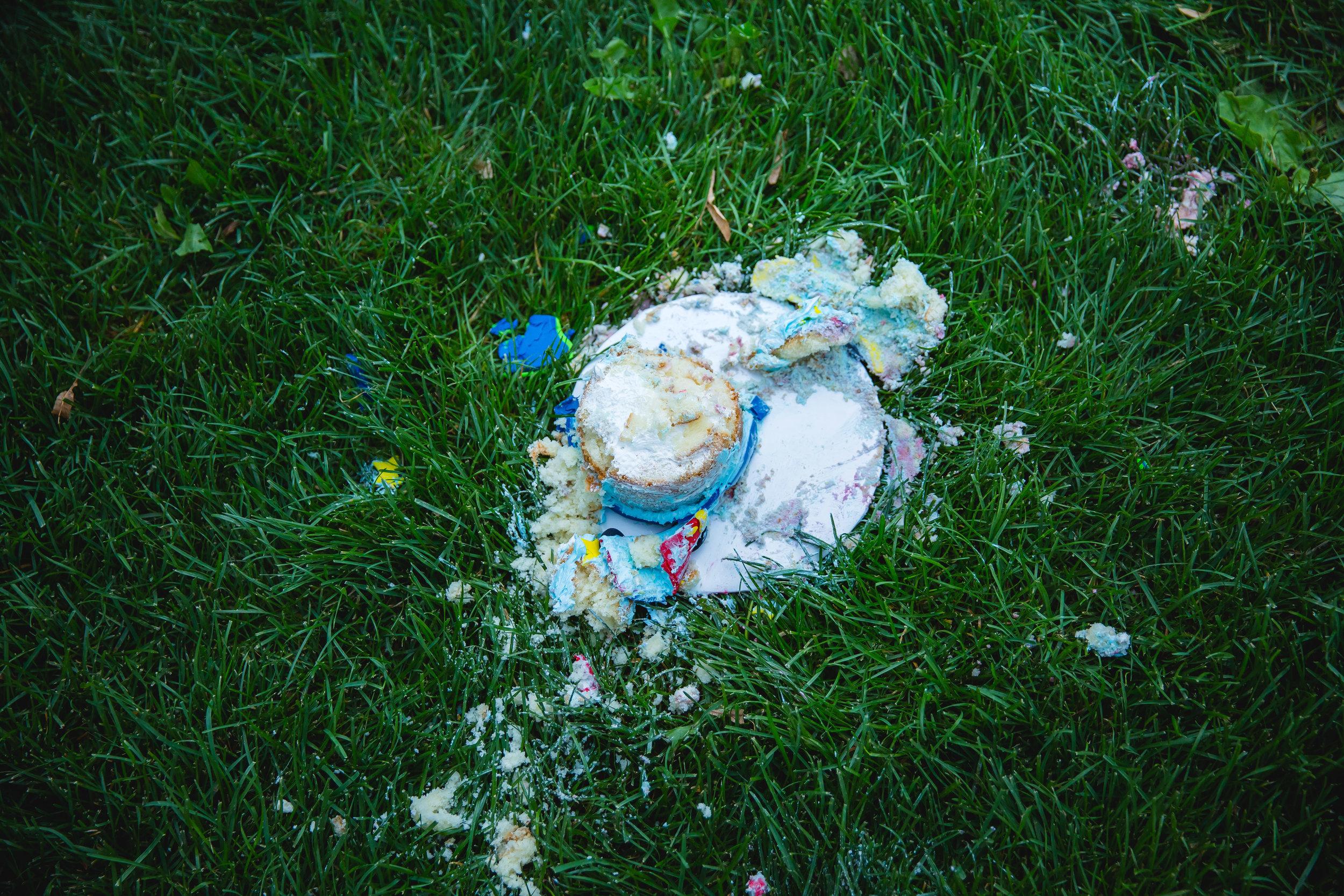 cake smashed