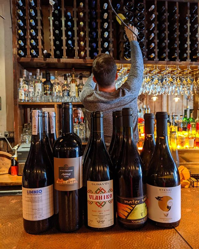Stocking #greekwine for the fall season. precious gems from across the atlantic, poured in your glass.... ...#greek #wine #greekfood #naturallygreek #greeceinaglass #winelover #goodtothelastdrop