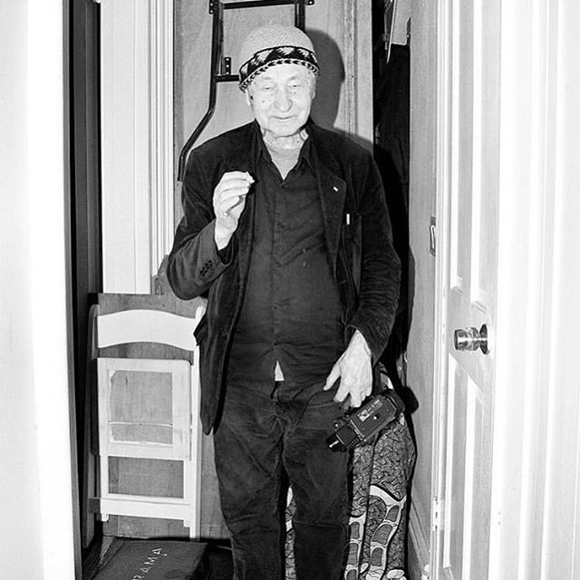 I came from light and I'll end in light. Now I am in the middle, in mud, with some flowers in it. ~Jonas Mekas.  Thank you @jeremy_liebman for reminding us of this portrait from @DinerJournal so many years ago.