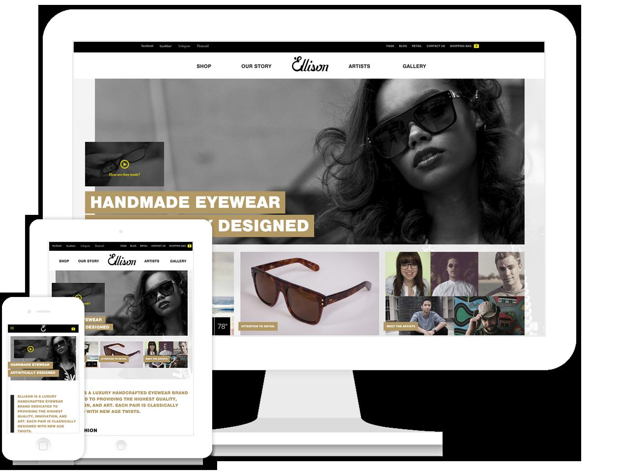 Ellison Website and Branding