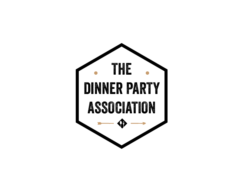 Dinner Party Association Logo Design