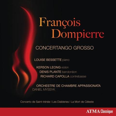 Concertango Grosso  LOUISE BESSETTE & ORCHESTRE DE CHAMBRE APPASSIONATA