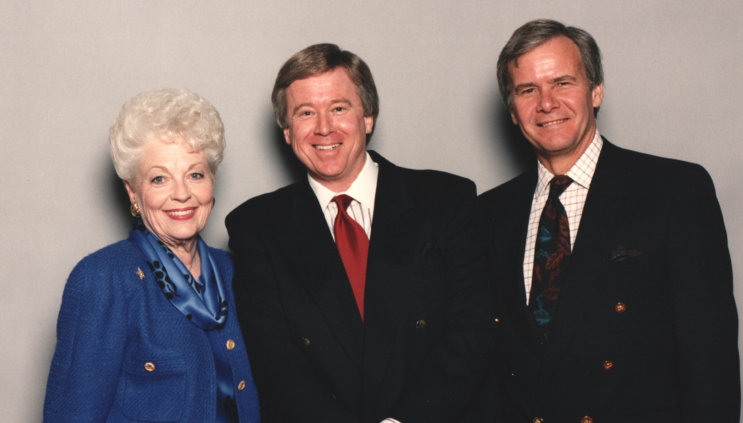 Gov. Richards, Tom Brokaw and myself from a Headliners Event in Austin…Photo by Charlie Guerrero…