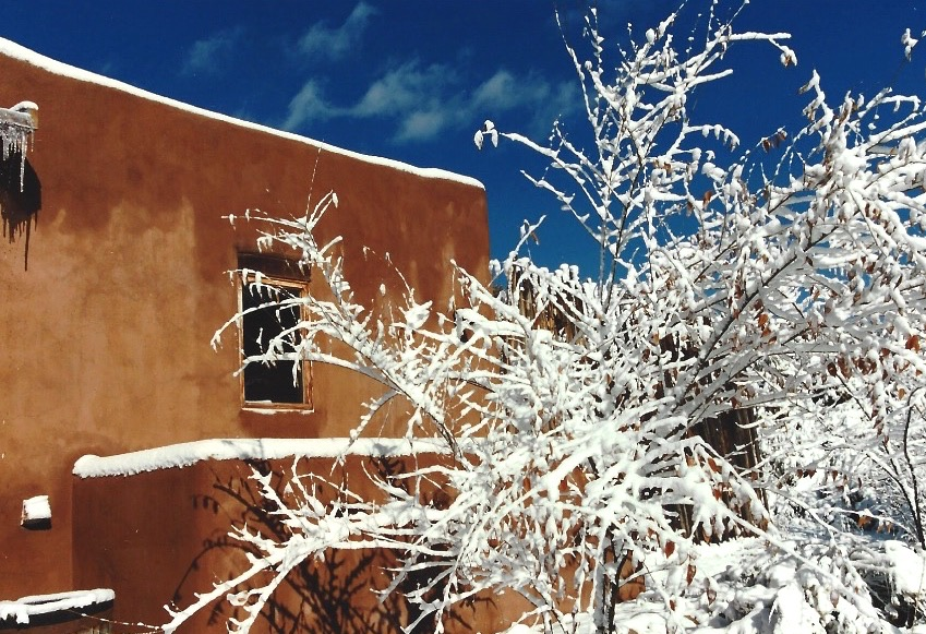 Stepping Outside My Ten Thousand Waves Casita In Santa Fe, I Was Humbled In Delight and Gratitude…
