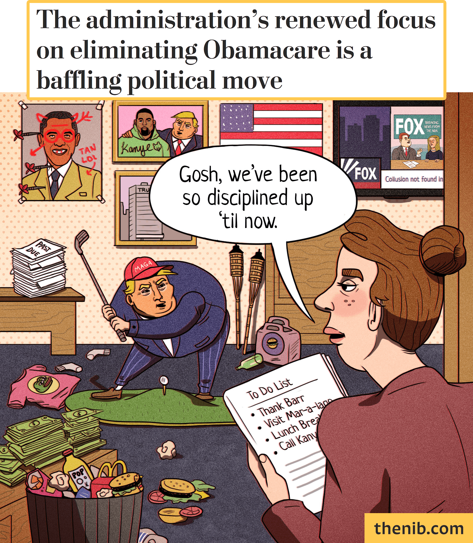 We're Starting to See a Pattern - Published by The Nib