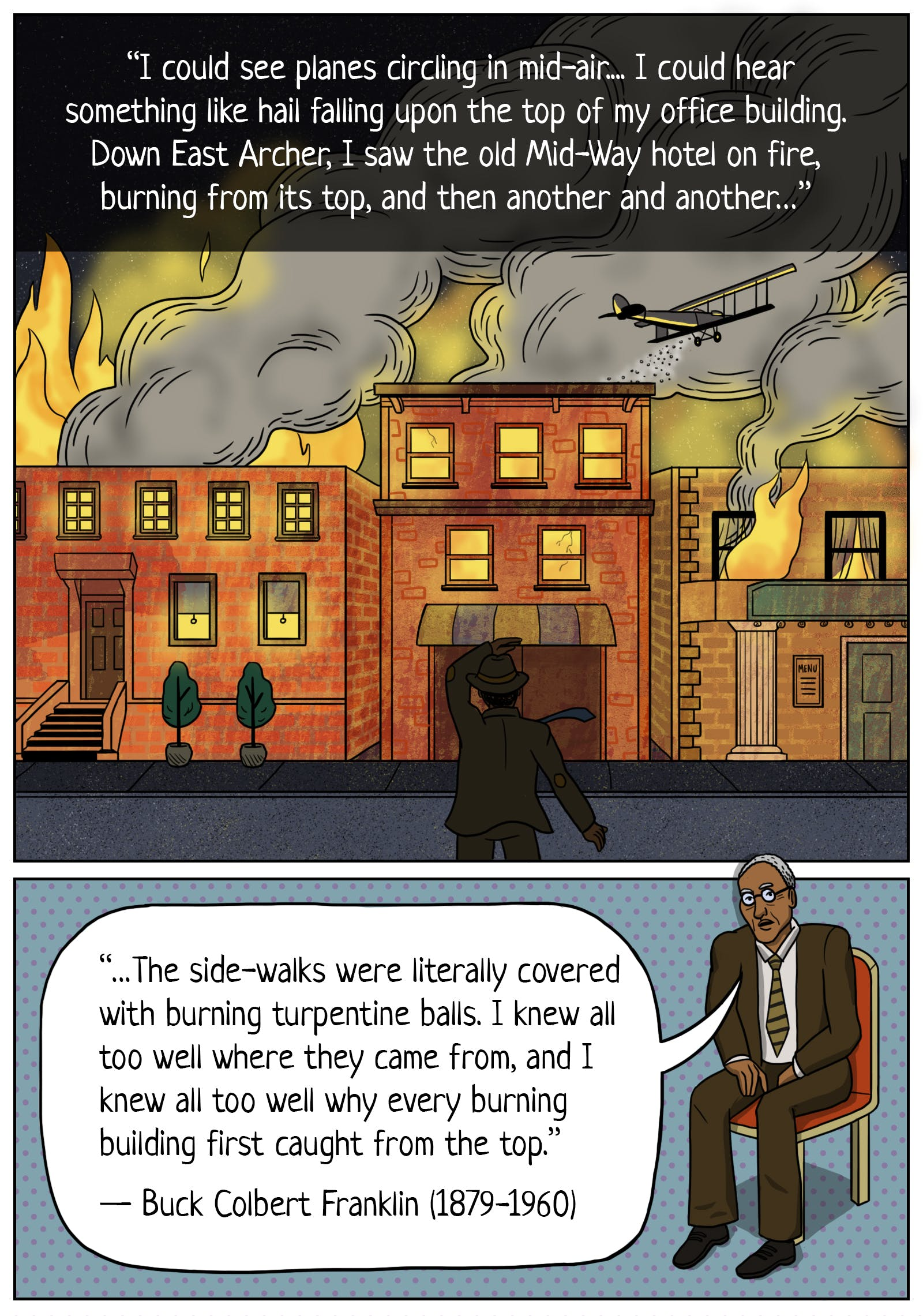 The Destruction of Black Wall Street - read the full piece at The Nib