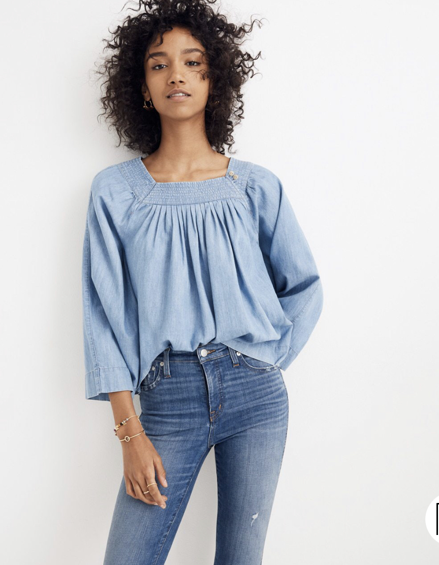 Back to the sale.. - This Madewell staple is only $13 right now! That's a Forever 21 price if I've ever seen one.