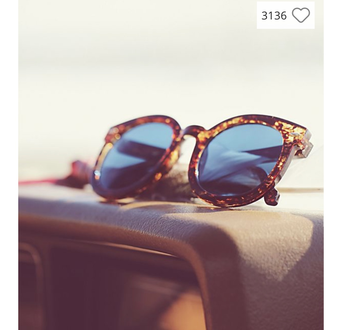 Free People Sunnies - Most Free People sunglasses are surprisingly affordable for their brand. $20!