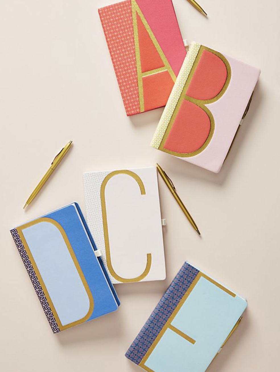 Anthropology Journal - Who doesn't love something monogramed? $18