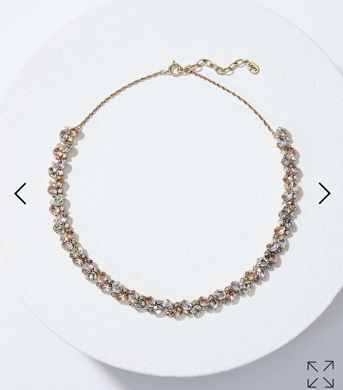 Gorgeous Necklace - $44 but currently half off at Loft plus free shipping