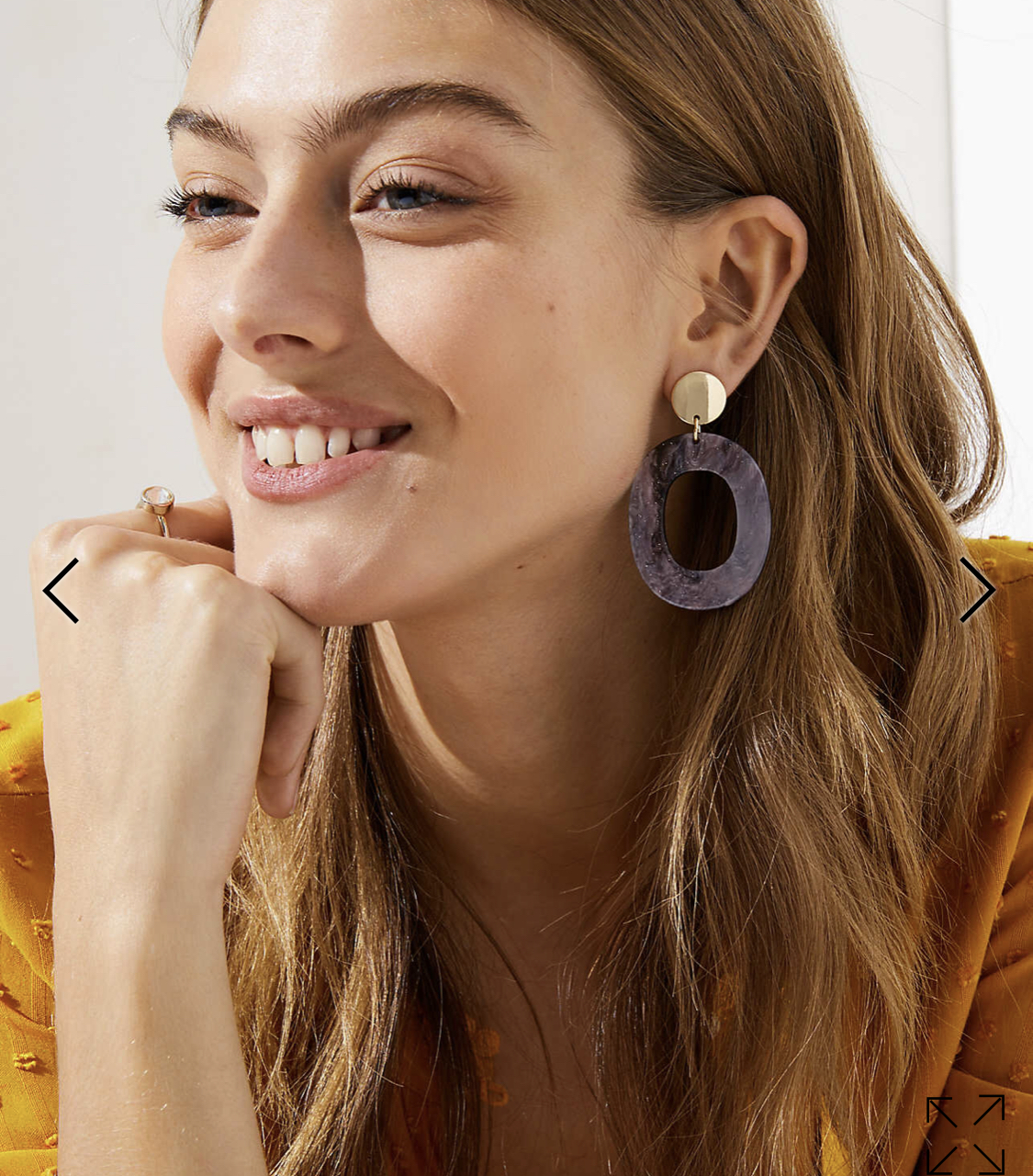 Trendy earrings - $34, but half off at Loft and free shipping!